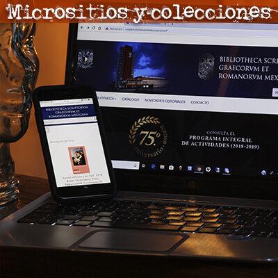 Micrositios y colecciones COVID-19 UNAM