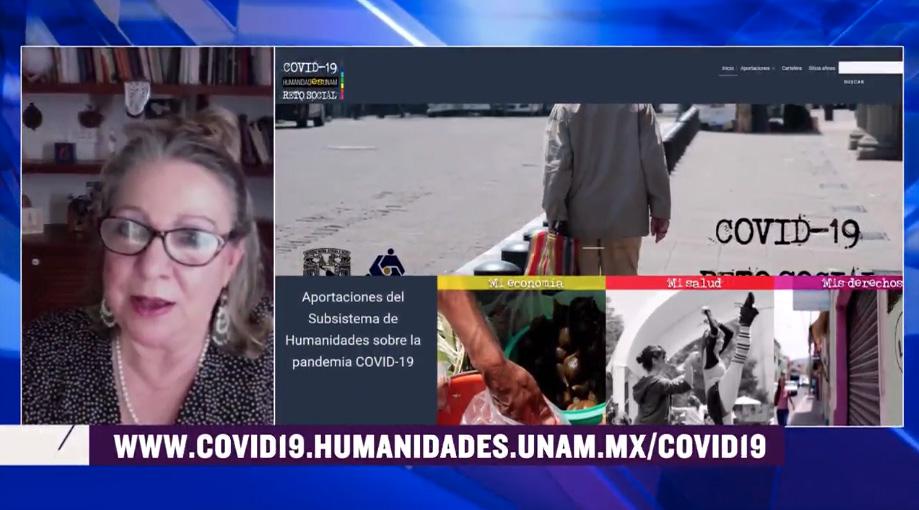Presentación del Portal COVID-19 HUMANIDADes UNAM: Construir un nuevo nosotros [409]